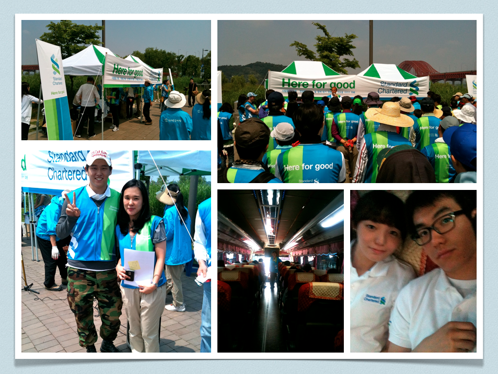 Ysc and standard chartered bank csr program launching